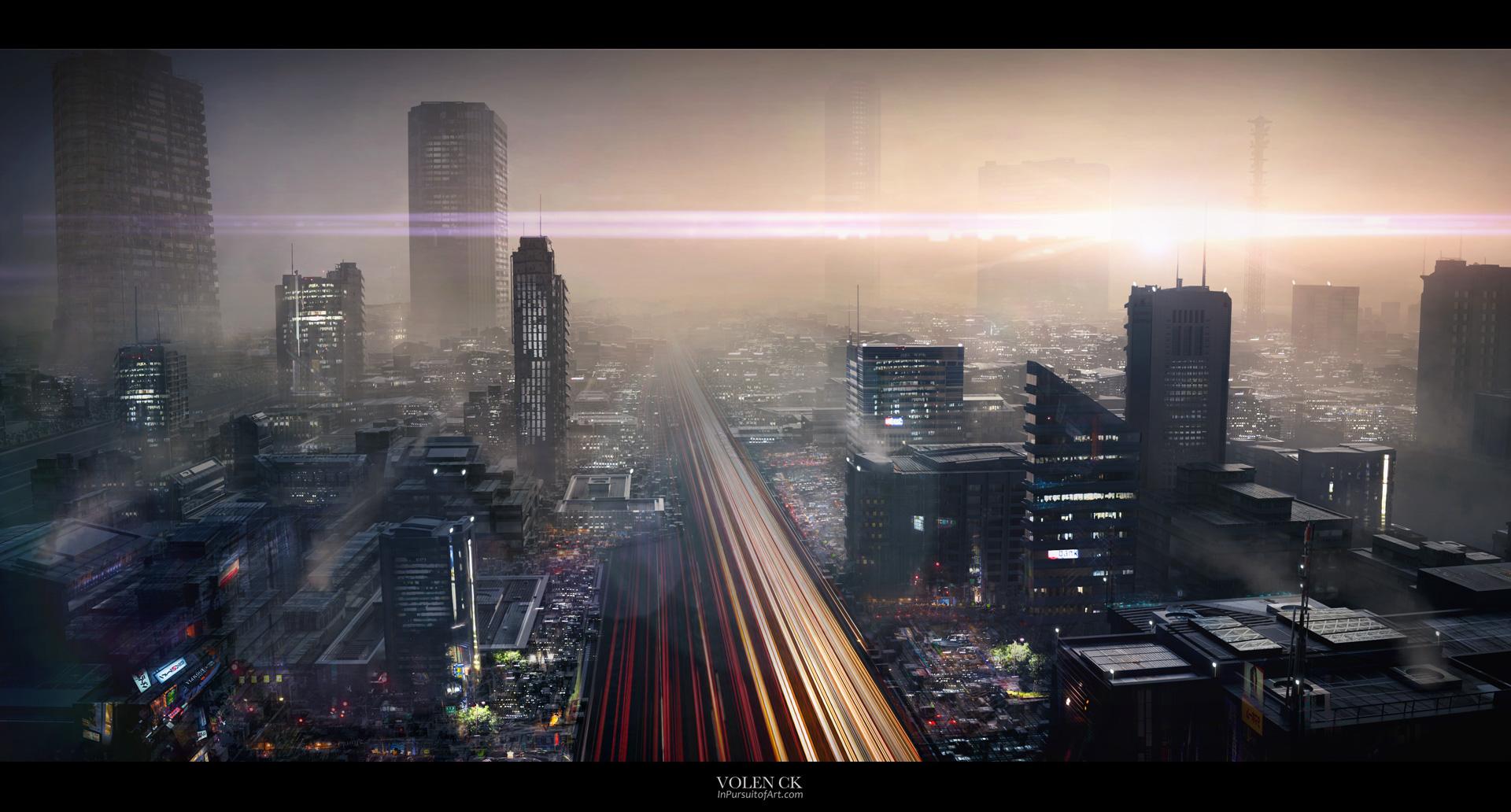 3D--Cityscape--Concept-Art---Volen-InPursuitOfArt