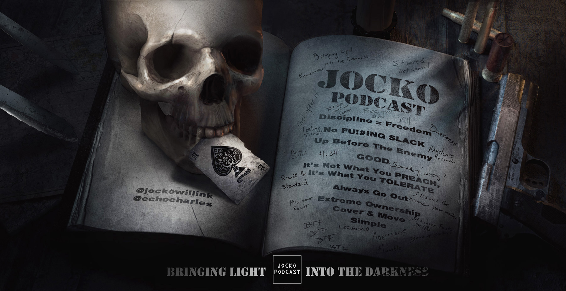 Jocko-Podcast-Bringing-Light-Into-The-Darkness-Illustration-Concept-Art-Volen-CK_3