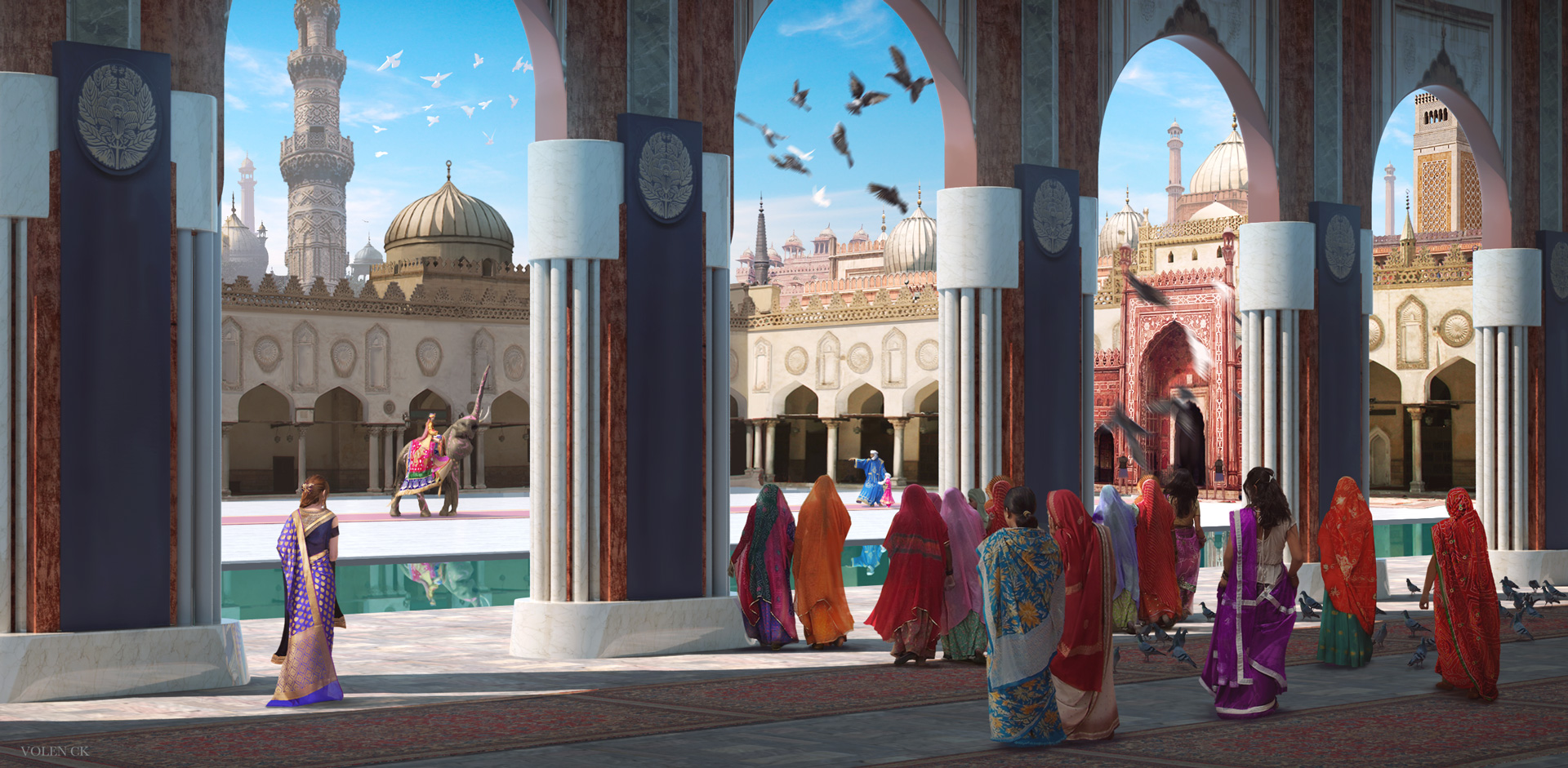 The-Elephant---Volen-CK---Concept-Art---Illustration---Design