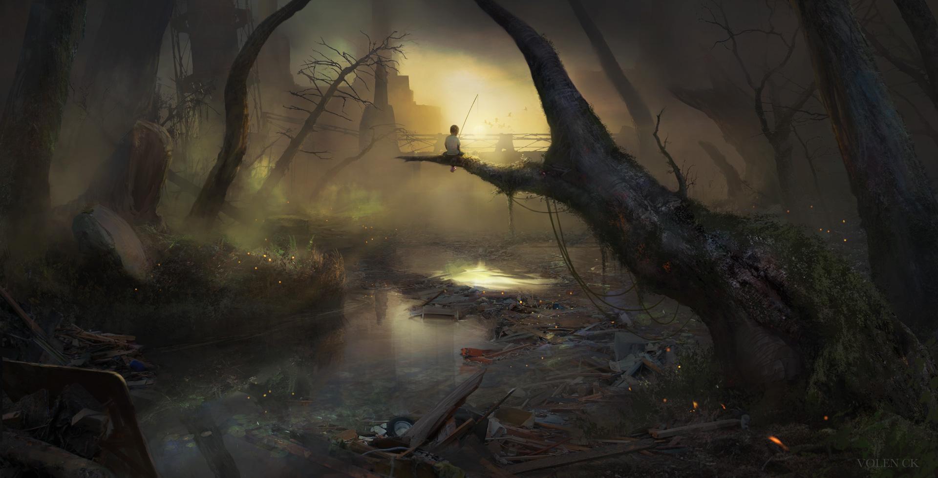 The-Toxic-River---Volen-CK---Concept-Art---Illustration---Design
